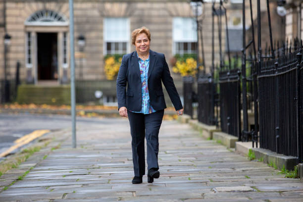 GBR: Sturgeon Meets With Executive Secretary of the United Nations Framework Convention On Climate Change Ahead Of COP26