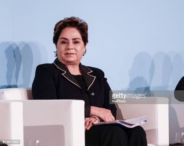 Patricia Espinoza UNFCCC Executive Secretaty at high level event on policy coherence at the COP23 Fiji conference in Bonn Germany on the 15th of...