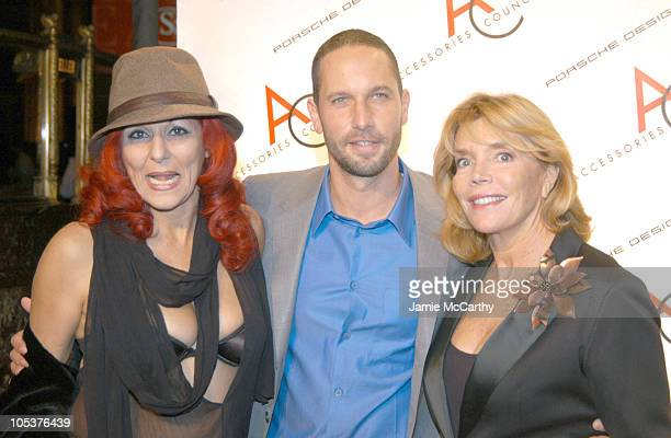 Patricia Field Alexis Bittar and Judy Licht during The 8th Annual Ace Awards at Cipriani 42nd Sreet in New York City New York United States