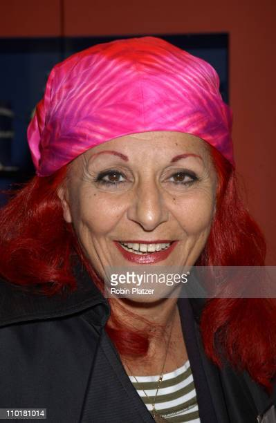 Patricia Field All My Children's Rebecca Budig during All My Children Stars Appear at Celebrity Heartthrobs Crystallize Denim Program Launch To...
