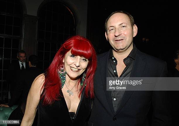 Patricia Field and John Demsey Global President of MAC Cosmetics