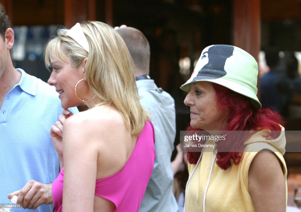 Patricia Field and Kim Cattrall