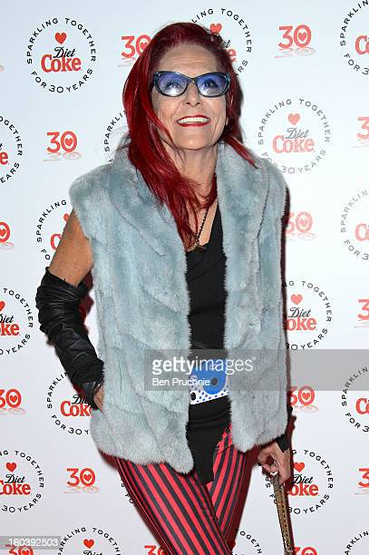 Patricia Field attends a party hosted by Diet Coke at Sketch on January 30 2013 in London England