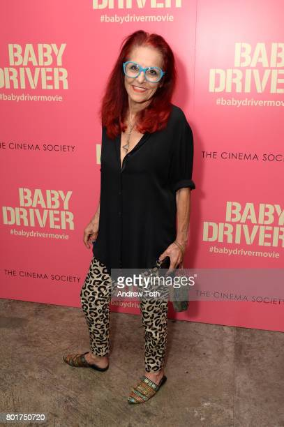 Patricia Field attends a screening of 'Baby Driver' hosted by TriStar Pictures and The Cinema Society at The Metrograph on June 26 2017 in New York...