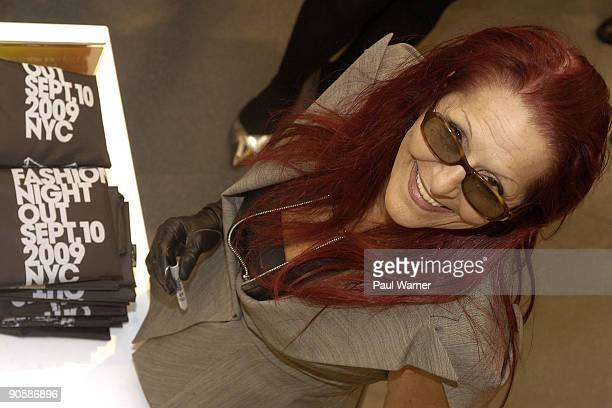 Patricia Field attends the downtown shopping party at Payless ShoeSource on September 10 2009 in New York City