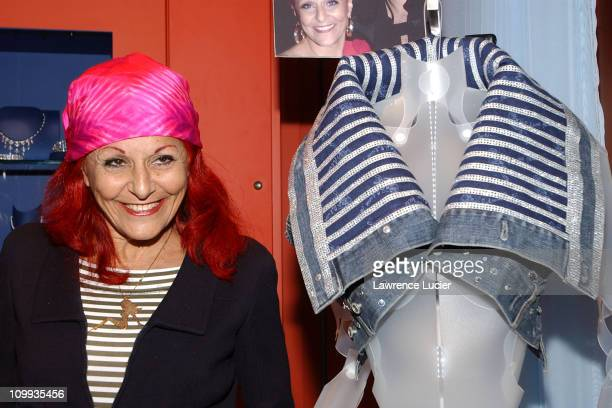 Patricia Field during All My Children Stars Appear at Celebrity Heartthrobs Crystallize Denim Program Launch To Benefit The American Heart...