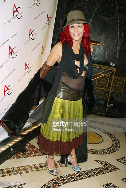 Patricia Field during The Accessories Council Presents the 8th Annual Ace Awards at Cipriani 42nd Street in New York City New York United States