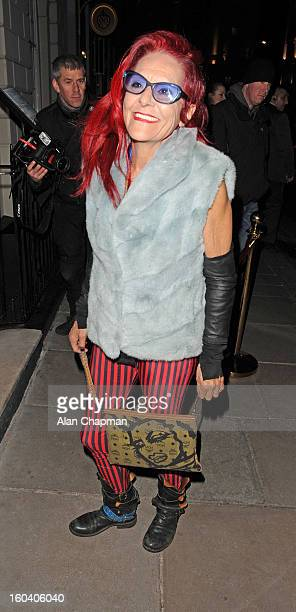 Patricia Field sighting at Sketch on January 30 2013 in London England