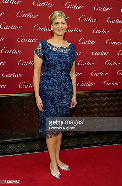Patricia Gandji attends Cartier Boutique ReOpening Party on September 5 2012 in Hamburg Germany