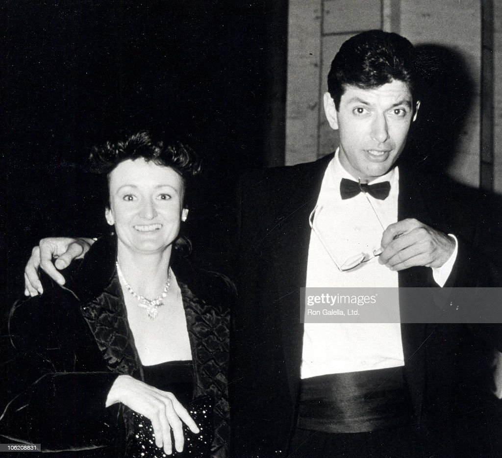 patricia gaul and jeff goldblum during premiere of the big chill