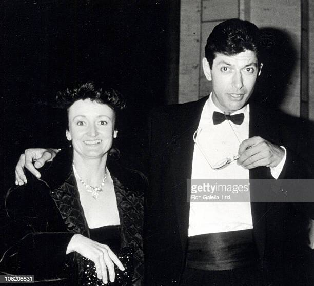 Patricia Gaul and Jeff Goldblum during Premiere of 'The Big Chill' in New York at Lincoln Center in New York New York United States