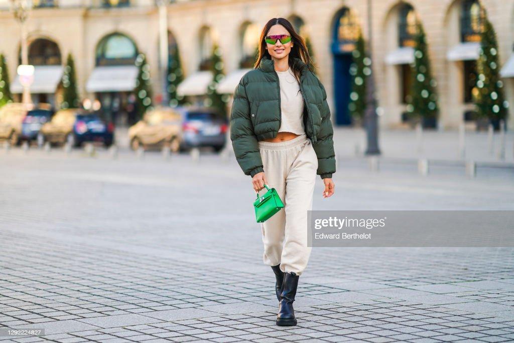 Fashion Photo Session In Paris - December 2020 : News Photo