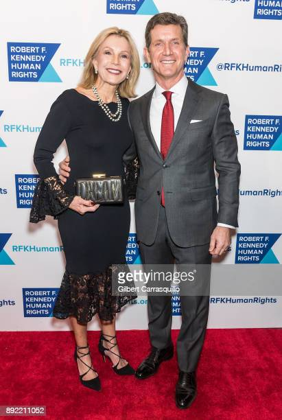 Patricia Gorsky and Chief Executive Officer of Johnson Johnson Alex Gorsky attend Robert F Kennedy Human Rights Hosts Annual Ripple Of Hope Awards...