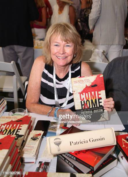 Patricia Gussin at the East Hampton Library's 15th Annual Authors Night Benefit on August 10 2019 in Amagansett New York