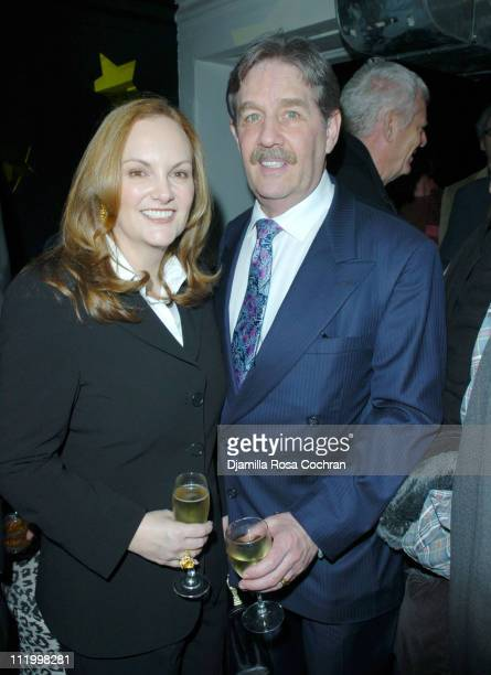 Patricia Hearst and Bernard Hearst during 'John Waters Presents Movies That Will Corrupt You' Launch Party at Happy Valley in New York City New York...