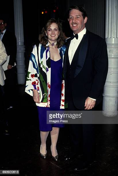 Patricia Hearst and husband Bernard Shaw circa 1987 in New York City