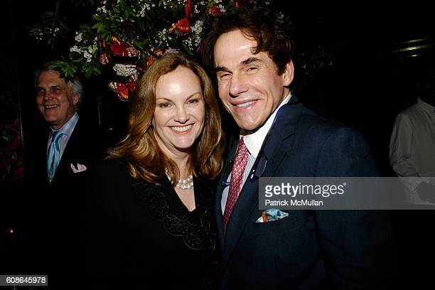 Patricia Hearst and R Couri Hay attend Anne Hearst Jay McInerney Host An Engagement Party For GILLIAN HEARSTSHAW and CHRISTIAN SIMONDS at Doubles on...