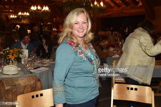 Patricia Hearst Shaw attends Hearst Castle Preservation Foundation - Patron Cowboy Cookout at Hearst Ranch on September 29, 2018 in San Simeon, CA.