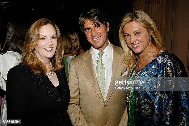 Patricia Hearst Steven Butensky and Di Petroff attend Anne Hearst Jay McInerney Host An Engagement Party For GILLIAN HEARSTSHAW and CHRISTIAN SIMONDS...