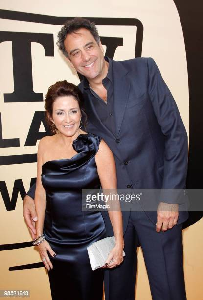 Patricia Heaton and Brad Garrett arrive to the 8th Annual TV Land Awards held at Sony Pictures Studios on April 17 2010 in Culver City California