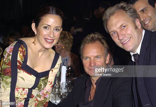 Patricia Heaton and Sting and David Hunt