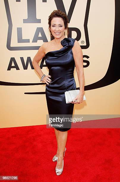 Patricia Heaton arrives to the 8th Annual TV Land Awards held at Sony Pictures Studios on April 17 2010 in Culver City California