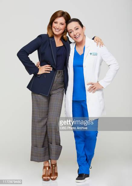 Patricia Heaton Ashley Tisdale of the CBS series CAROL'S SECOND ACT