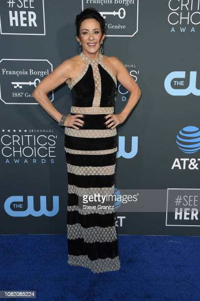 Patricia Heaton attends the 24th annual Critics' Choice Awards at Barker Hangar on January 13 2019 in Santa Monica California