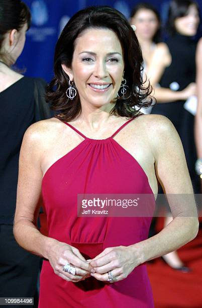 Patricia Heaton during 32nd Annual People's Choice Awards Arrivals at Shrine Auditorium in Los Angeles California United States