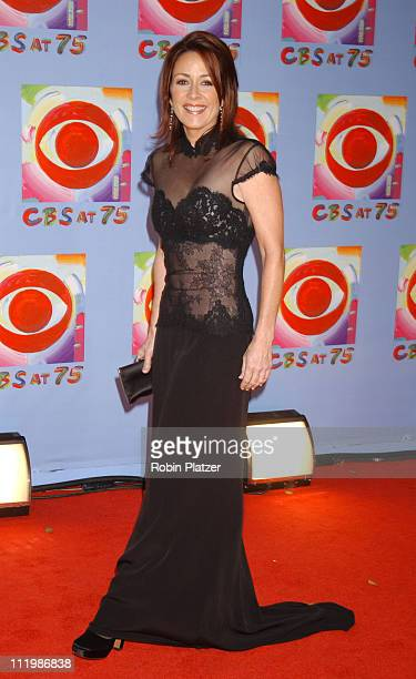Patricia Heaton during CBS at 75 Commemorating CBS'S 75th Anniversary Arrivals at The Hammerstein Theater in New York City New York United States