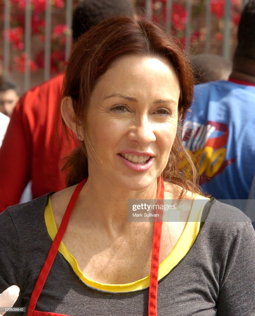Patricia Heaton during Los Angeles Mission 2004 Easter Celebration at Downtown Los Angeles in Los Angeles, California, United States.
