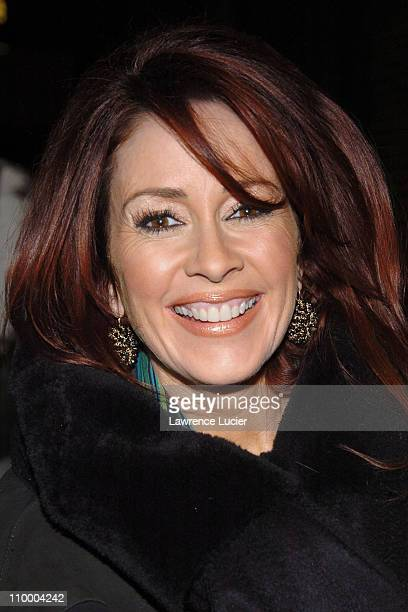 Patricia Heaton during Patricia Heaton Outside The Late Show with David Letterman February 2 2005 at Ed Sullivan Theater in New York City New York...