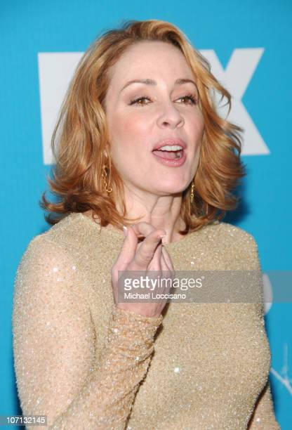 Patricia Heaton during The 2007/2008 Fox Upfronts Arrivals at Wollman Rink Central Park in New York City New York United States
