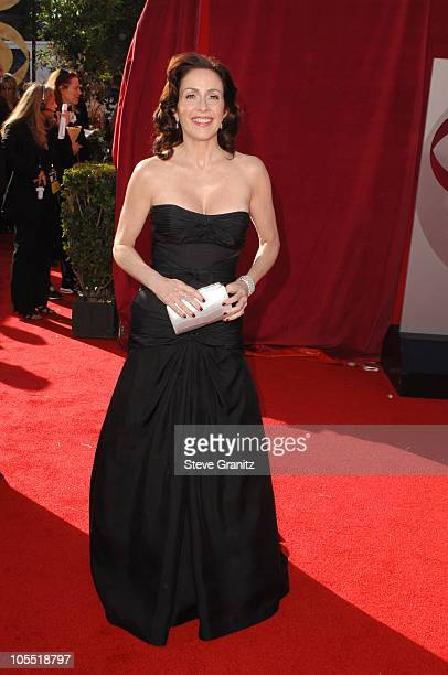 Patricia Heaton during The 57th Annual Emmy Awards Arrivals at Shrine Auditorium in Los Angeles California United States