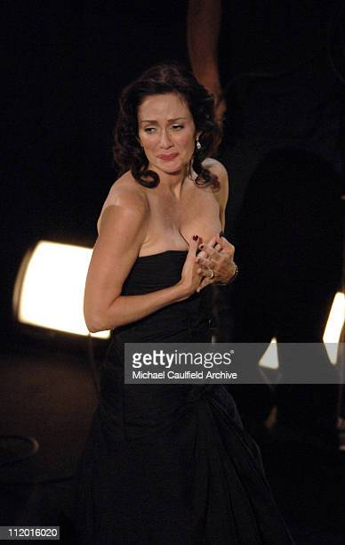 Patricia Heaton during The 57th Annual Emmy Awards Show at Shrine Auditorium in Los Angeles California United States