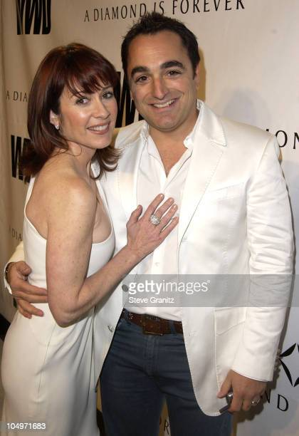 Patricia Heaton during Women's Wear Daily The Ultimate Fashion Authority Hosted 'White Hot Diamonds' The Exclusive PreOscar Fashion Event Where...