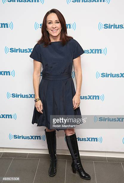 Patricia Heaton visits at SiriusXM Studios on October 23 2015 in New York City
