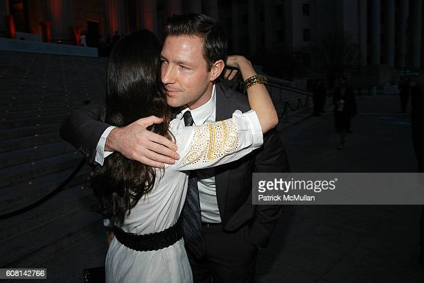 Patricia Herrera Lansing and Ed Burns attend VANITY FAIR Tribeca Film Festival Party hosted by GRAYDON CARTER and ROBERT DE NIRO at The State Supreme...