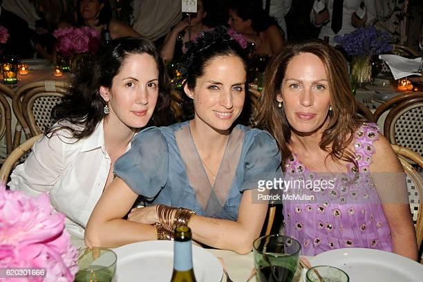 Patricia Herrera Lansing Carolina Adriana Herrera and Ana Luisa Behrens attend 2008 Council of Fashion Designers of America Awards Presented by...