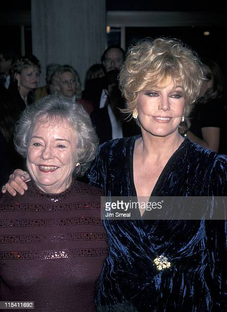 Patricia Hitchcock and Kim Novak during Los Angeles Premiere of Newly Restored Hitchcock's at Cineplex Odeon in Century City CA United States