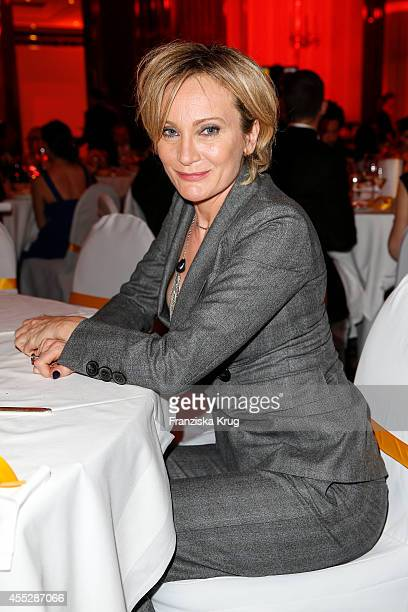 Patricia Kaas attends the Dreamball 2014 at the Ritz Carlton on September 11 2014 in Berlin Germany