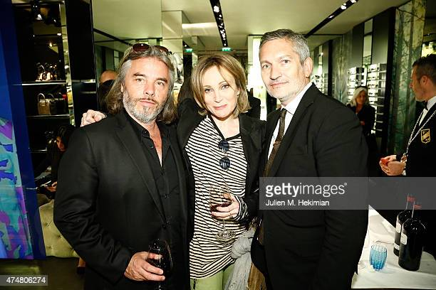 Patricia Kaas attends the Dsquared2 20th Anniversary Celebration on May 26 2015 in Paris France