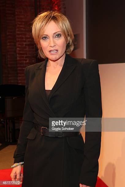 Patricia Kaas attends the Prix Courage Award 2014 on October 15 2014 at AllerheiligenHofkirche in Munich Germany