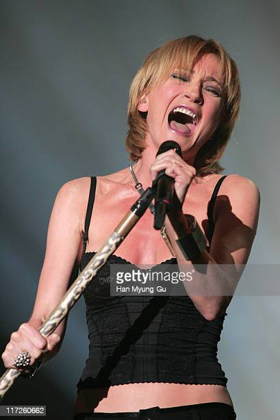 Patricia Kaas during Patricia Kaas in Concert at Jamsil Olympic Hall May 3 2005 at Jamsil Olympic Hall in Seoul City Seoul South Korea