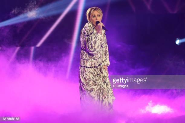 Patricia Kaas perform during the taping of the show 'Schlagerboom Das Internationale Schlagerfest' at Westfalenhalle on October 21 2016 in Dortmund...