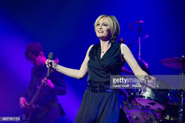 Patricia Kaas performs at Salle Pleyel on January 26 2017 in Paris France