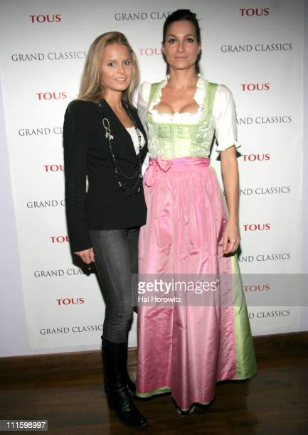 Patricia Kamp and Alexandra Kamp during GRAND CLASSICS Films With Style Screening of Incident at Oglala Hosted by Vivienne Westwood at Soho House in...