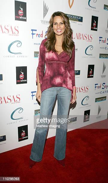 Patricia Kara during Calabasas Magazine Celebrates 2 Years at Fred Segal Mauro Cafe in Los Angeles California