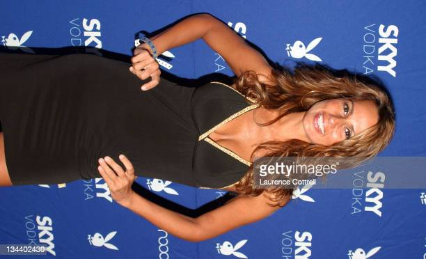 Patricia Kara during Skyy Vodka Celebrates Playboy's August Issue With Playmate of the Year Kara Monaco at Mood in Los Angeles California United...
