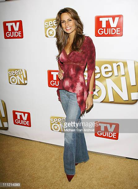 Patricia Kara during The SeenOnCom Launch Party Arrivals at Boulevard3 in Hollywood California United States